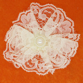 Ivory Lace Flowers