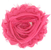 Hot Pink Shabby Flowers