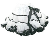 White Black Premium Pettiskirt