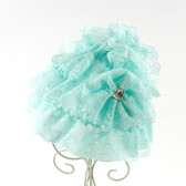 Frozen Aqua Lace Hat