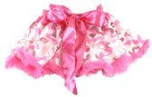 Hot Pink Camo Pettiskirt