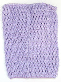 Lavender Tutu Top Crochet Headband