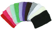 Assorted Tutu Top Crochet Headbands