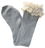 Gray Boot Socks