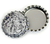 Antique Silver Bottle Cap