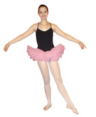 Adult or Teen Organza Tutu Light Pink