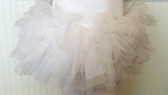 White Adult Teen Older Girl Organza Tutus