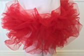 Red Adult Teen Older Girl Organza Tutus