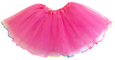 Neon Hot Pink Rainbow Lined Dance Tutu