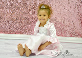 Light Pink Princess Costume Dress 4-6T Kid