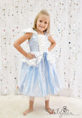 Princess Costume Dress Light Blue