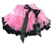 Hot Pink Black Premium Pettiskirt