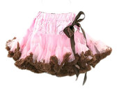 Light Pink Brown Premium Pettiskirt