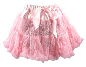 Light Pink Lace Pettiskirt