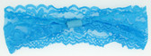 Turquoise Wide Lace Headbands