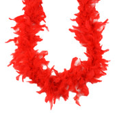 Red Chandelle Feather Boa
