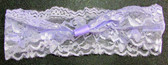 Lavender Wide Lace Headbands