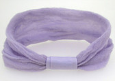 12 Lavender Nylon Headbands