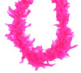Hot Pink Chandelle Feather Boa