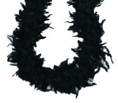 Black Chandelle Feather Boa