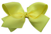Light Yellow Girl Boutique Bows