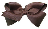 Chocolate Brown Girl Boutique Bows