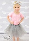 Silver Gray Basic Ballet Tutu Girls Dance Skirts Wholesale