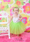 Lime Green Ballet Tutu Girls Dance Skirts Wholesale