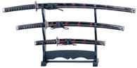 3 Piece Sword Set - YK-58BG4