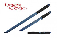 HERO'S EDGE DUAL SWORDS ANODIZED BLUE