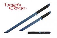 HERO'S EDGE DUAL SWORDS ANODIZED BLUE