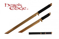 HERO'S EDGE DUAL SWORDS ANODIZED GOLD