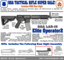 BB2522 Rock River Arms Elite Operator 2 with Dominator 2 Rear Sight