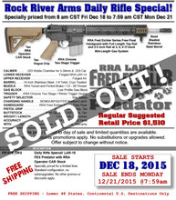 Rock River Arms FE1015 Fred Eichler Signature Rifle 5.56 DAILY RIFLE SPECIAL!
