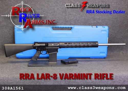 "Rock River Arms LAR-8 308A1561 Varmint A4 26"" Stainless Bull Barrel"