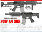 70968201 Rock River Arms AR2280 PDW A4 SBR 10.5""