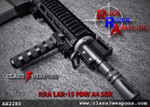 Rock River Arms AR2280 PDW A4 SBR 10.5""