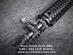 "Rock River Arms SBR CAR A4 10.5"" Chrome Moly Barrel with added options"