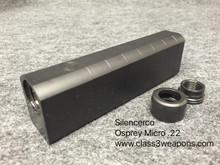Silencerco Osprey Micro .22 Suppressor