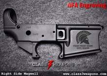 NFA Engraving Graphic AR-15 / AR-10 Style Lower Receiver Services