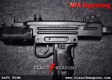 NFA Engraving Text UZI Receiver Services