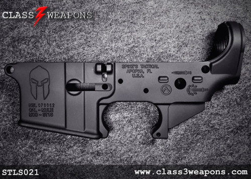 Spikes Tactical STLS021 Spartan Stripped Lower Receiver