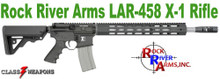 22890900 Rock River Arms XSOC1751B LAR-458 X-1 458 SOCOM Rifle
