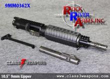 "9MM0362X Rock River Arms 10.5"" Chrome Moly A4 Pistol Upper Half 9mm"