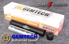 Gemtech Alpine .22LR, .22 WMR, .17 HMR, .17 HM2  Suppressor 1/2x28 tpi