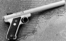 "AWC Amphibian ""S"" Stainless .22 Ruger SS MKIII Suppressed Pistol"