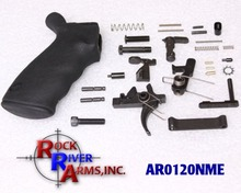 Rock River Arms AR0120NME Complete Lower Parts Kit NM with Ergo Ambi Grip