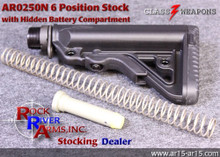 Rock River Arms AR0250N 6 Position Operator Stock with Battery Compartment