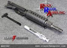 AR036202 Rock River Arms 10.5 inch Chrome Moly A4 Pistol Upper Half 5.56/.223