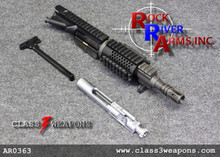 "AR036301 Rock River Arms 7"" Chrome Moly A4 Pistol Quad-Rail Upper Half 5.56/.223"